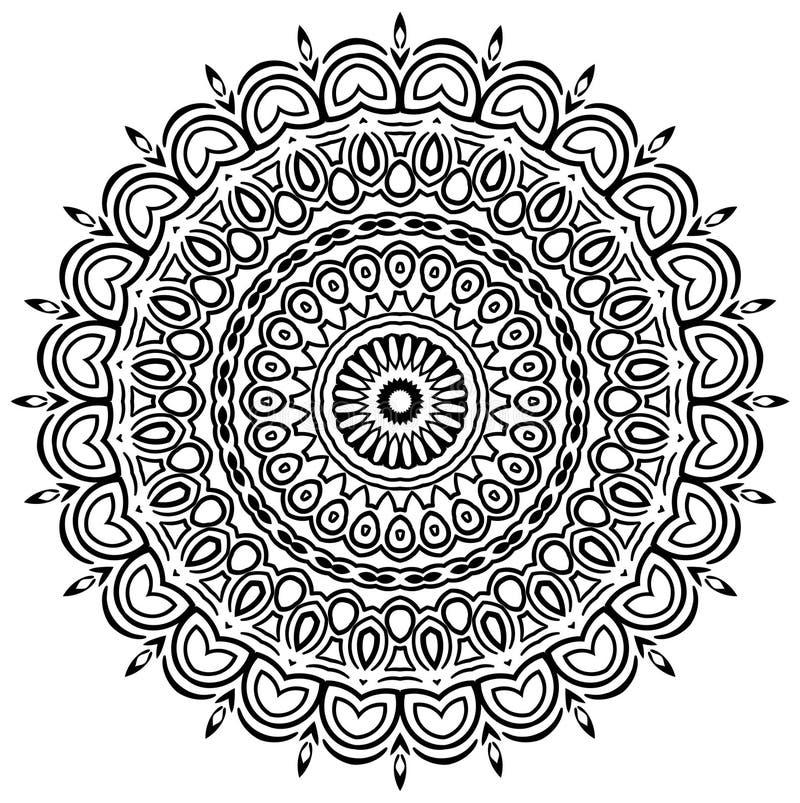 Mandala etnica royalty illustrazione gratis
