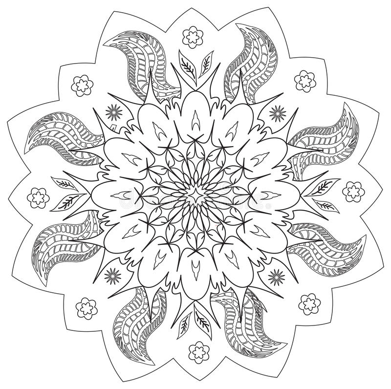 mandala fleur nature symbole de cercle d 39 nergie en. Black Bedroom Furniture Sets. Home Design Ideas