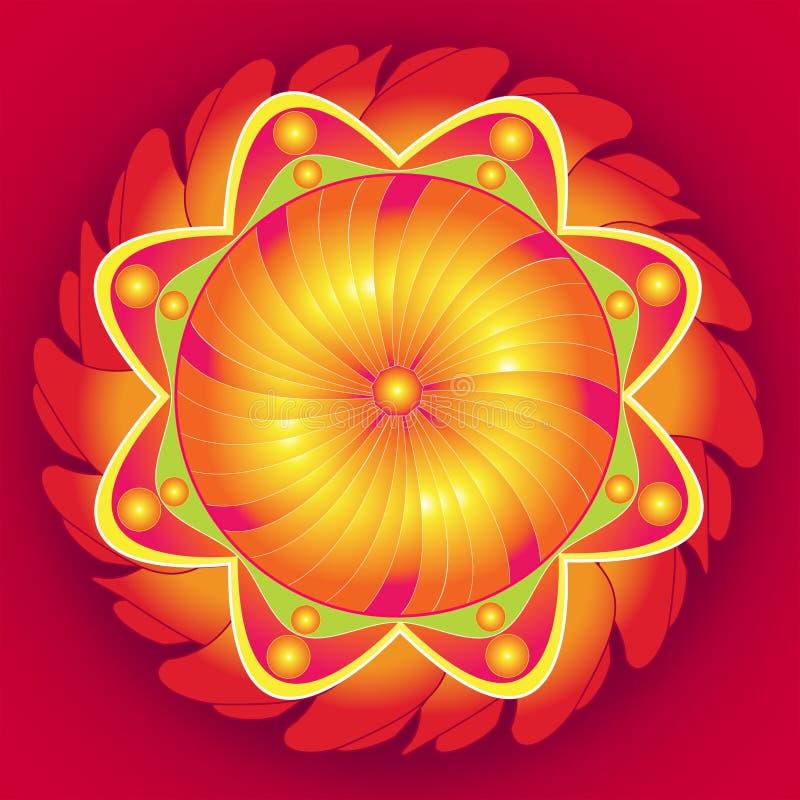 Mandala Floral Perfection vector illustration