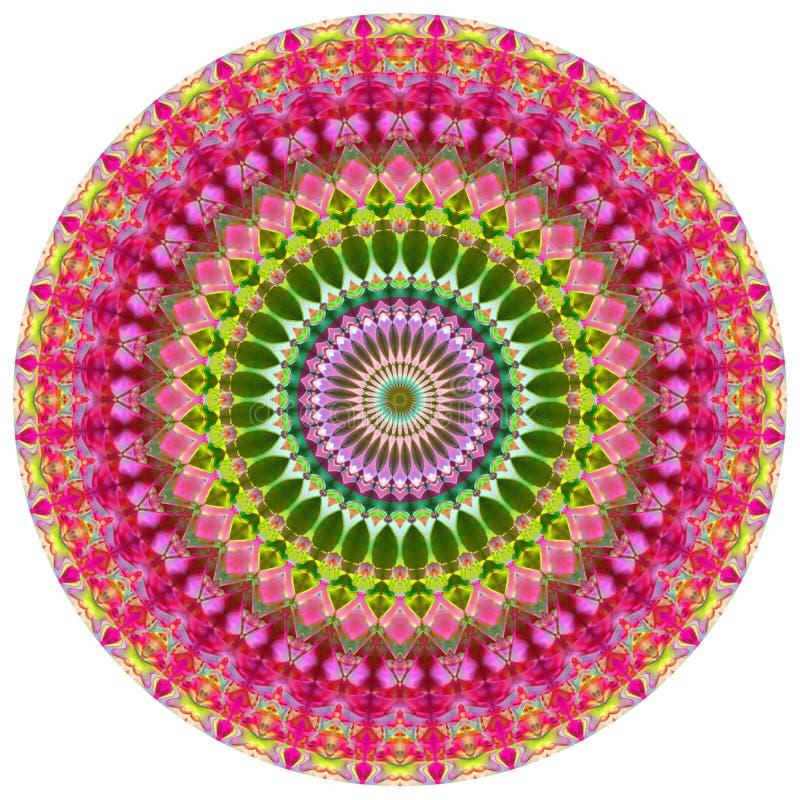 Mandala géométrique illustration stock