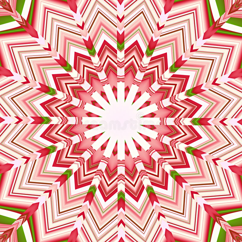 mandala gwiazdkę gwiazdy ilustracja wektor