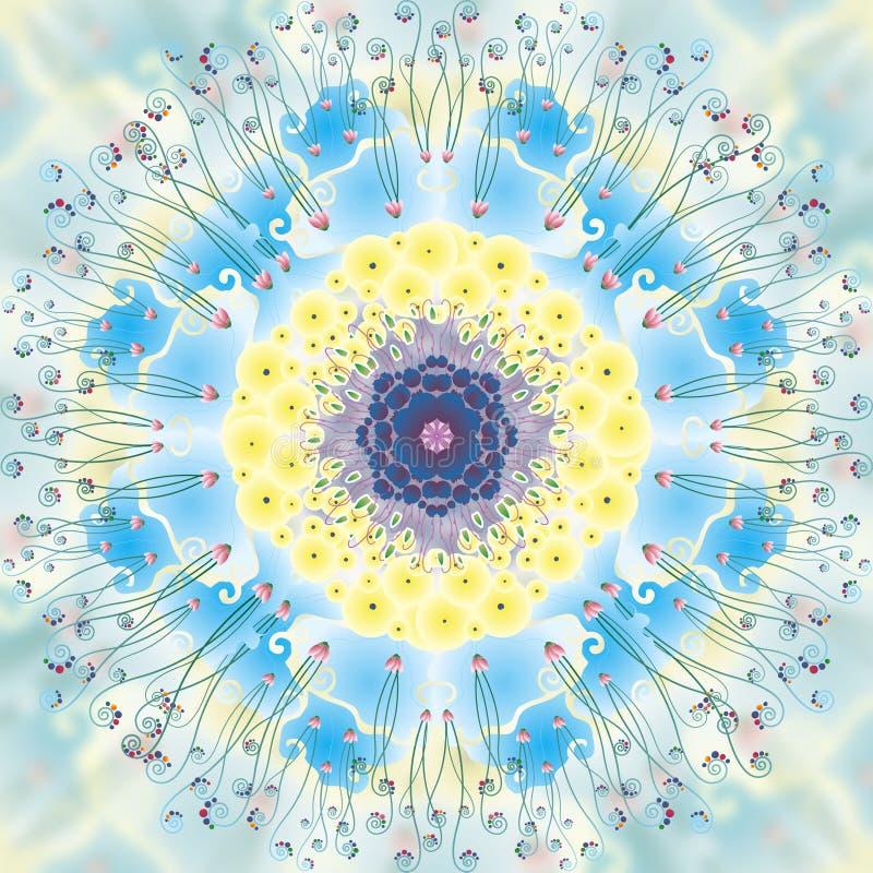 Mandala Happiness royalty free stock image