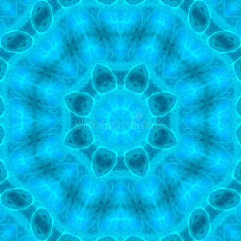 Mandala harmonii wzoru pokrywy projekta mozaiki cyfrowy energetyczny ornament kolorowy zdjęcie stock