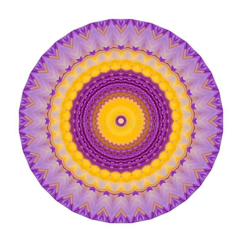 Mandala Healing Chakra stock illustrationer