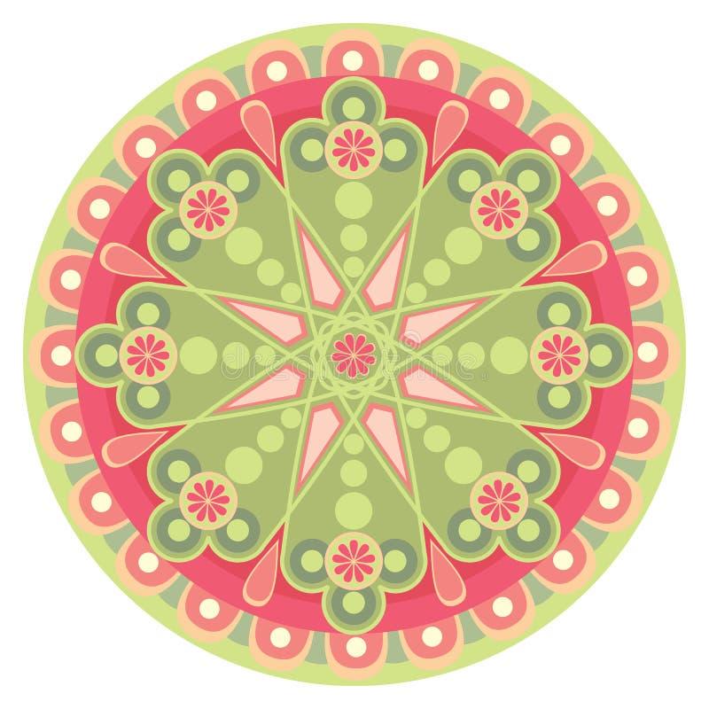 Download Mandala_heart stock vector. Image of energy, circle, love - 23295204