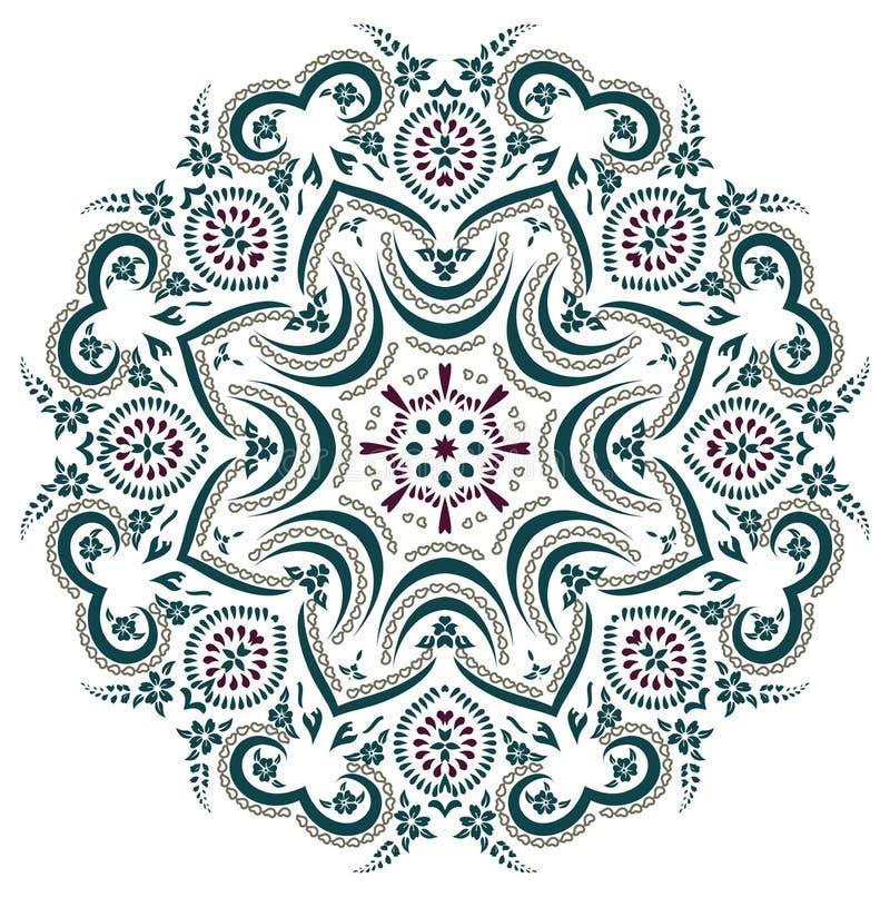 Mandala Henna stock illustratie