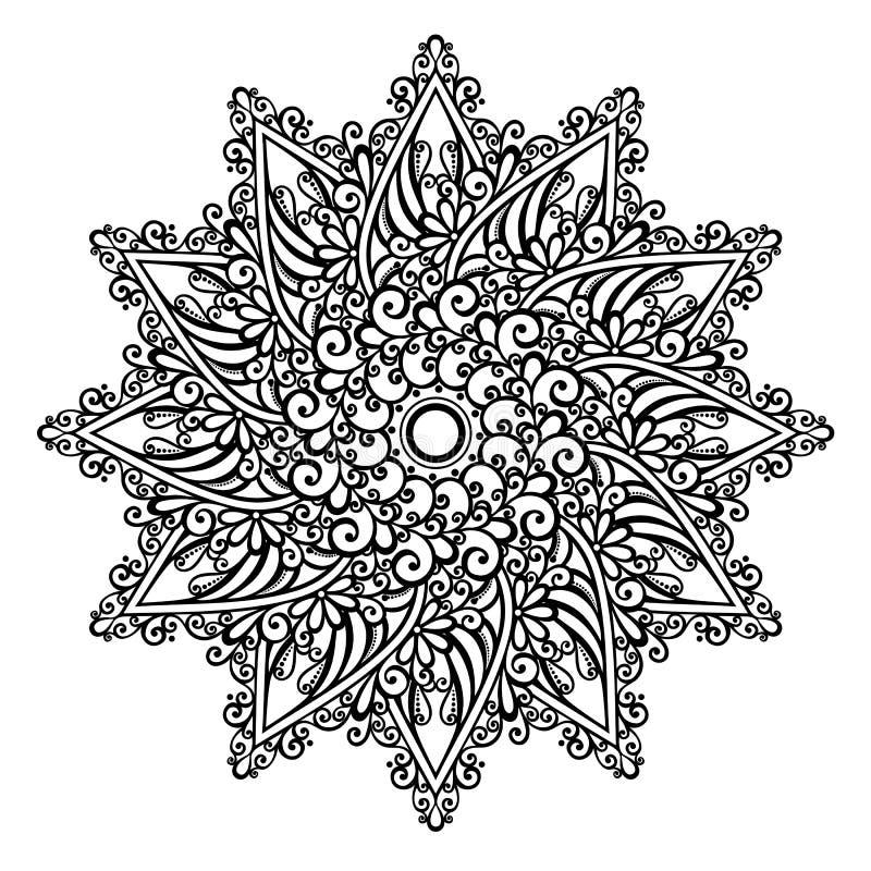 Mandala hermosa de Deco (vector)