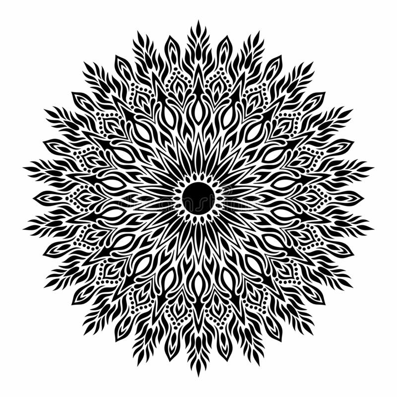 Mandala. royalty free stock photo