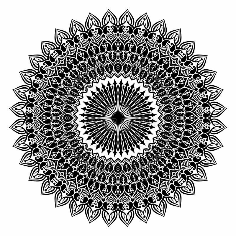 Beautiful Deco Mandala Vector. stock photos