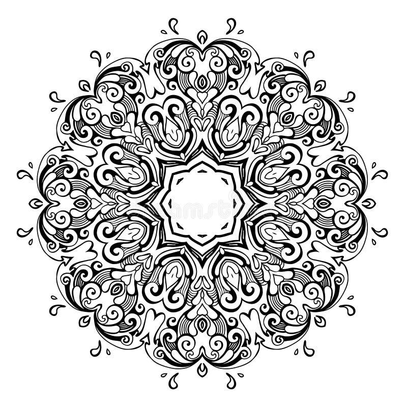 mandala Indisch decoratief patroon vector illustratie