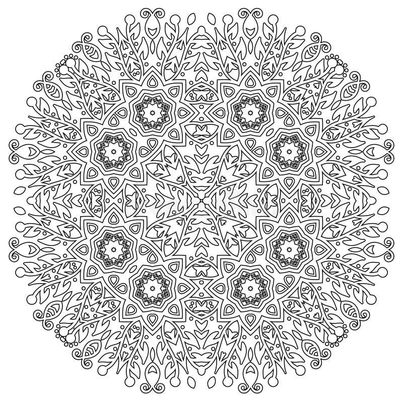 Mandala intrincada fotografia de stock