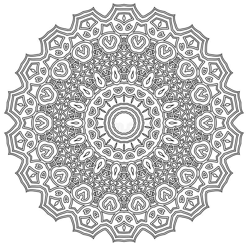 Mandala intrincada imagens de stock