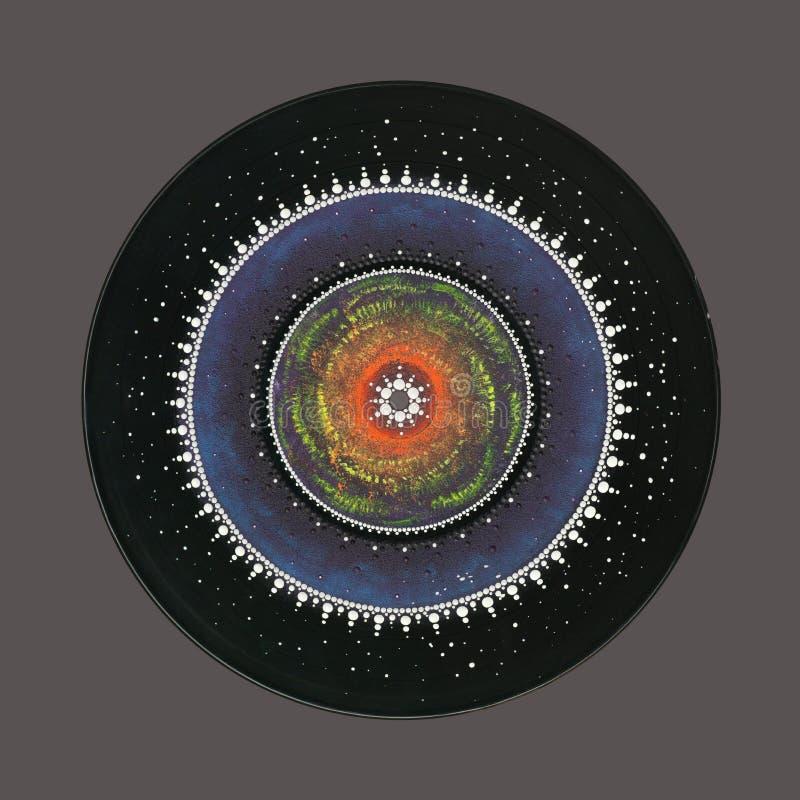 Mandala mágica colorida imagen de archivo libre de regalías