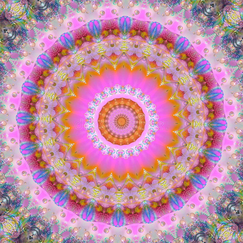 Mandala magique illustration libre de droits
