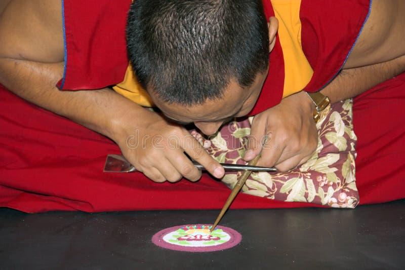 Mandala Maker stock image
