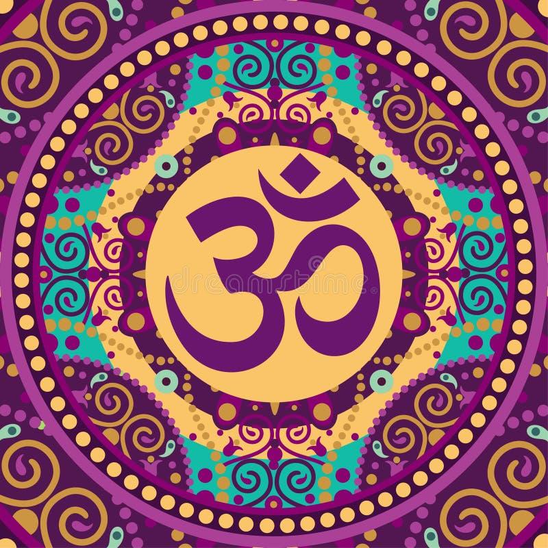 Mandala om ilustracji