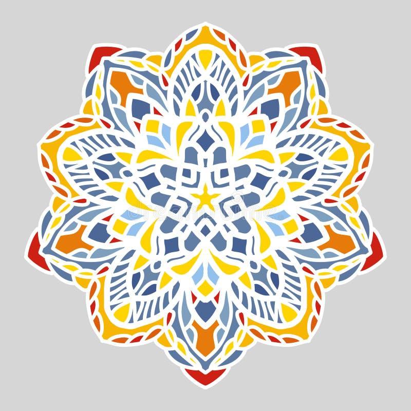 Mandala Openwork immagine stock