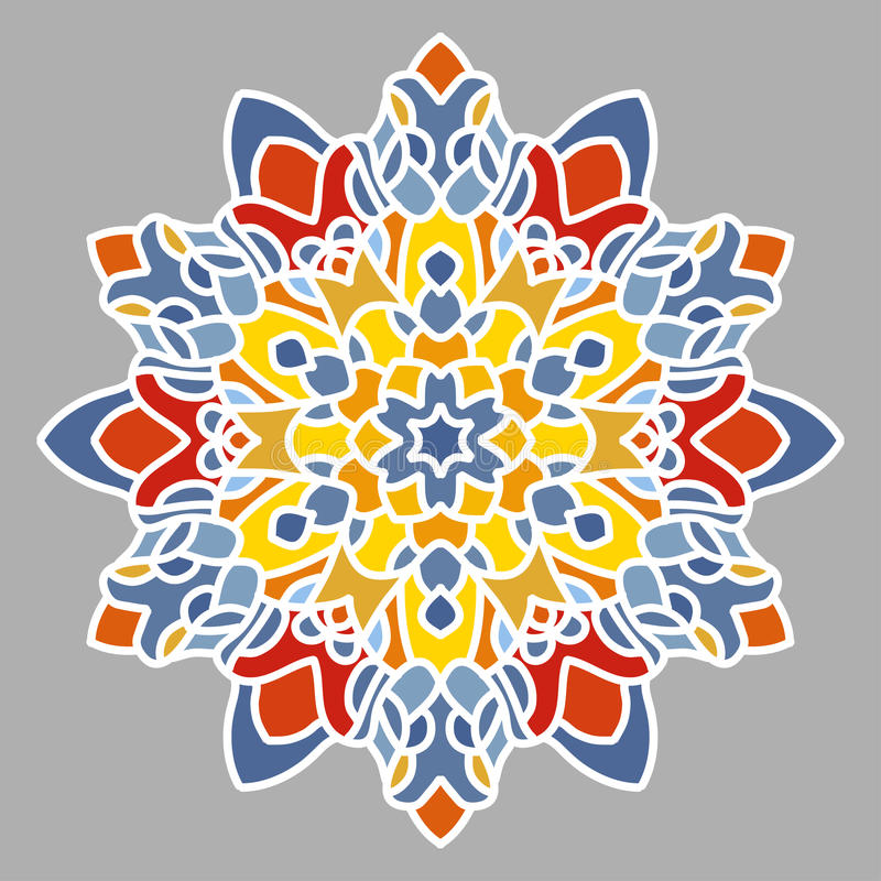 Mandala Openwork royalty illustrazione gratis