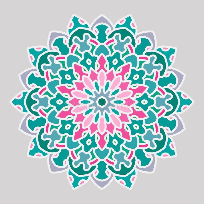 Mandala Openwork illustrazione di stock