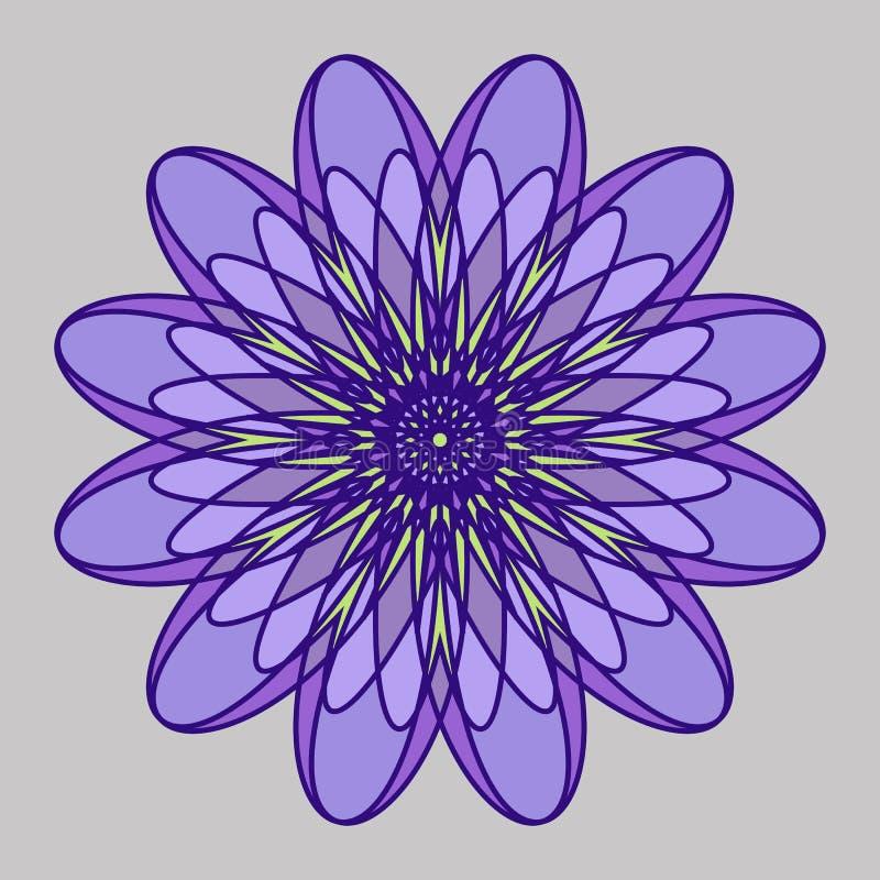 Mandala Openwork illustrazione vettoriale