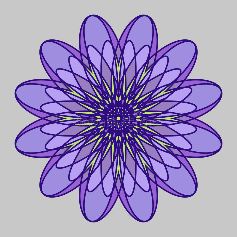 Mandala Openwork immagini stock