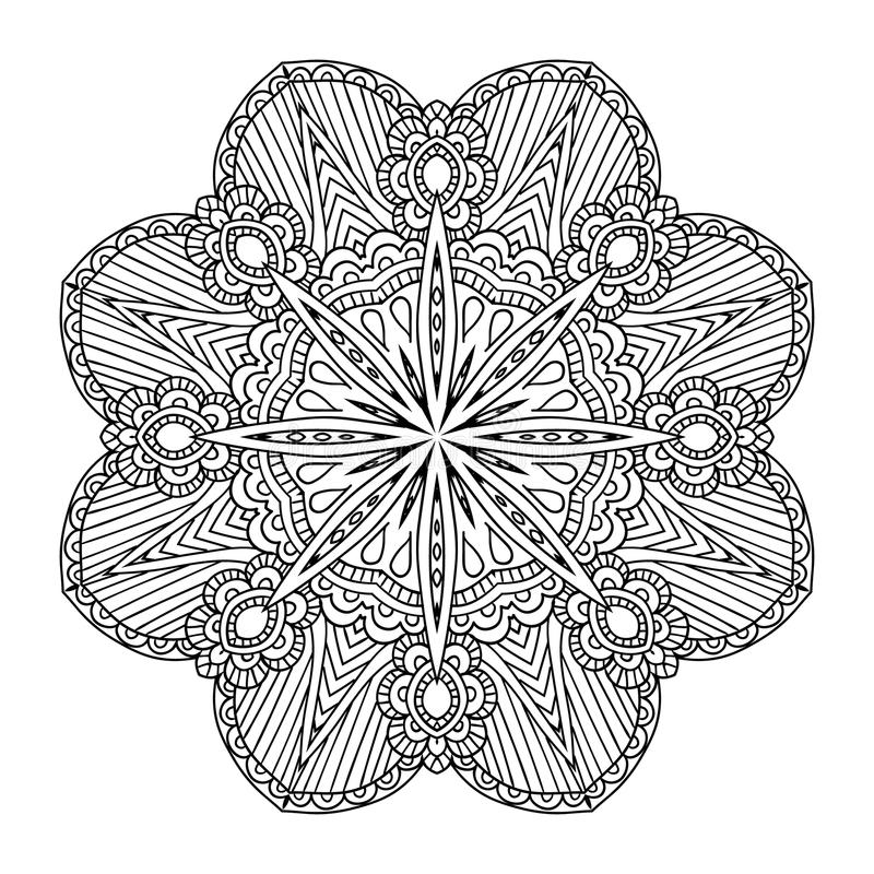mandala Ornamento redondo libre illustration