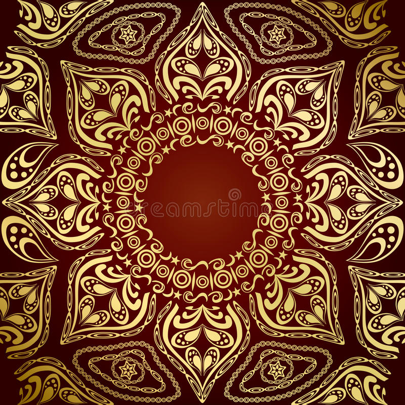 Mandala Pattern royalty free stock photos