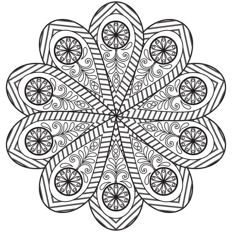 Mandala Pattern ilustração royalty free
