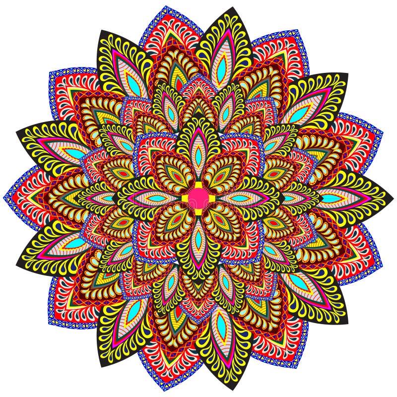 Mandala Pattern royaltyfri illustrationer