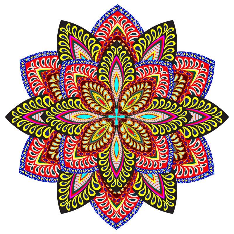 Mandala Pattern illustration de vecteur