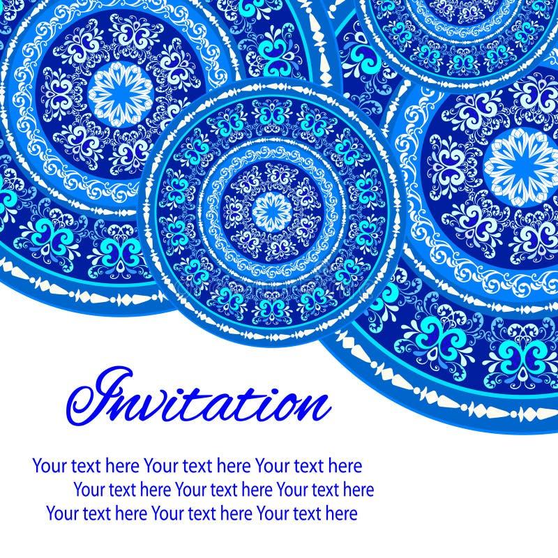 Download Mandala Pattern illustrazione vettoriale. Illustrazione di antique - 55350121