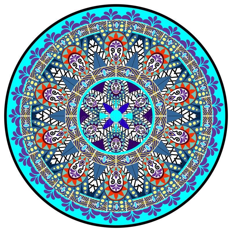 Download Mandala Pattern illustrazione vettoriale. Illustrazione di mandala - 55350706