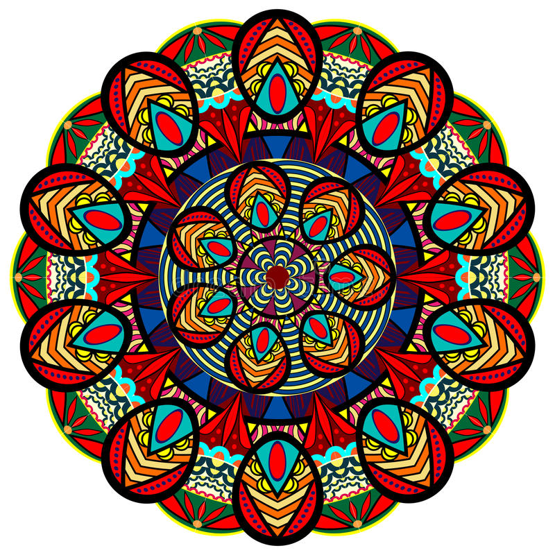 Mandala Pattern illustration stock