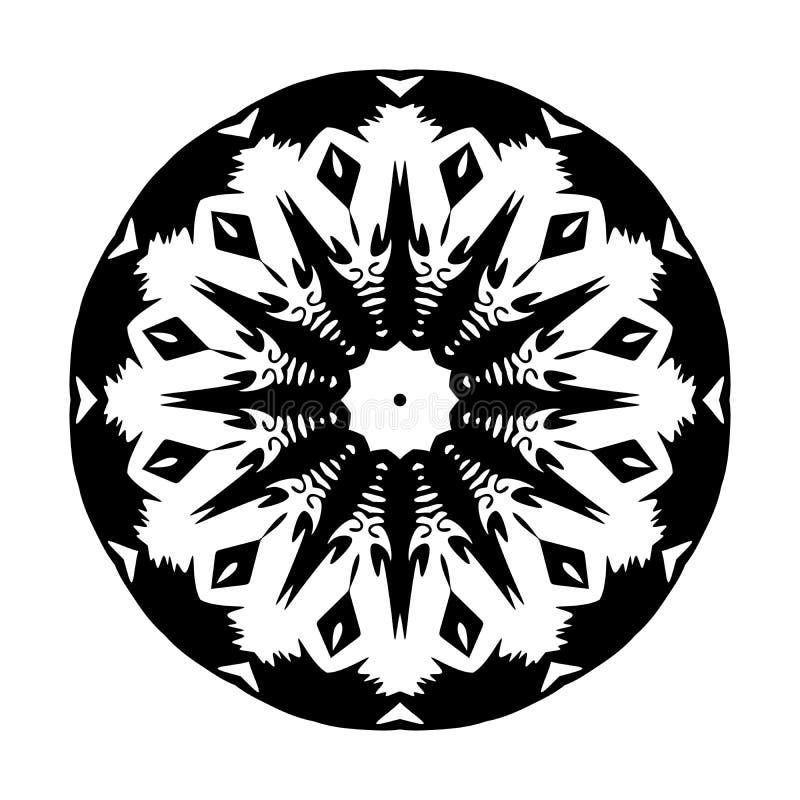 Mandala pattern geometrical circles style flowers style decoration. Mandala pattern ornaments geometrical circles  flowers style decoration many uses for vector illustration