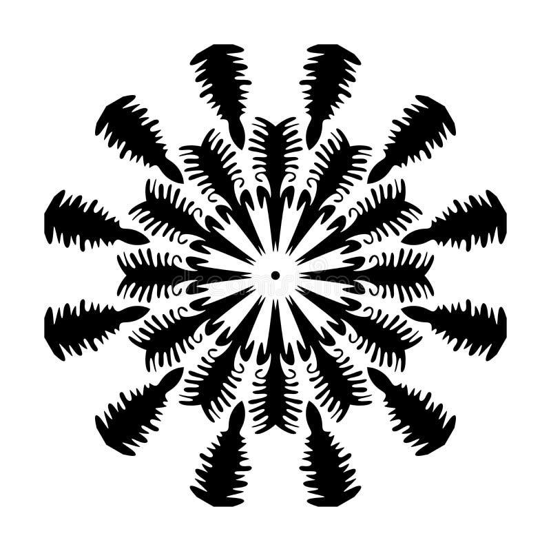 Mandala pattern ornaments geometrical circles flowers style decoration. Mandala pattern ornaments geometrical circles  flowers style decoration many uses for vector illustration