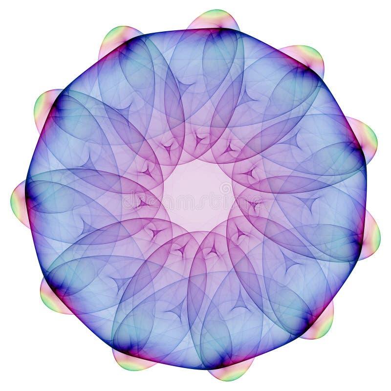 mandala plazmatyczny ilustracji