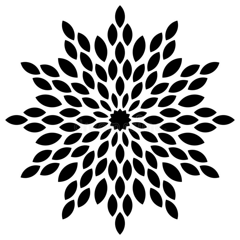 mandala royalty illustrazione gratis