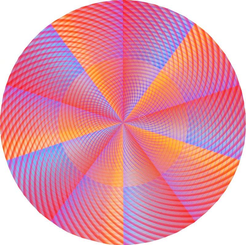 Mandala rose illustration de vecteur