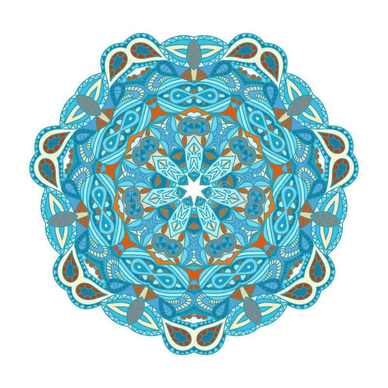 Mandala. Round vector ornament Mandala. Traditional orient symbol stock illustration