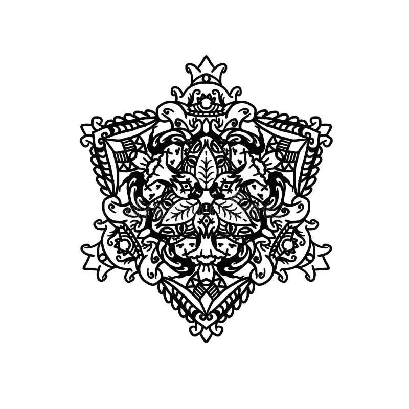 Mandala tre immagine stock libera da diritti