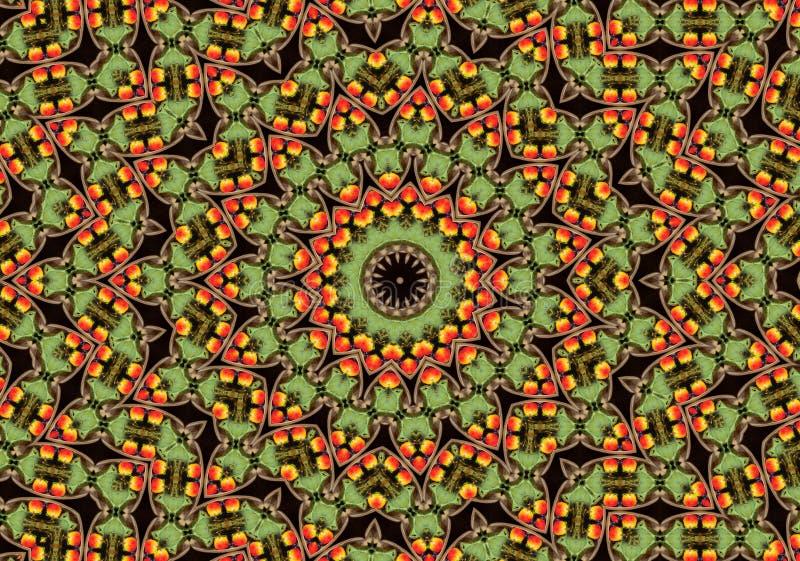 Download Mandala van de appel stock illustratie. Illustratie bestaande uit kleur - 283992