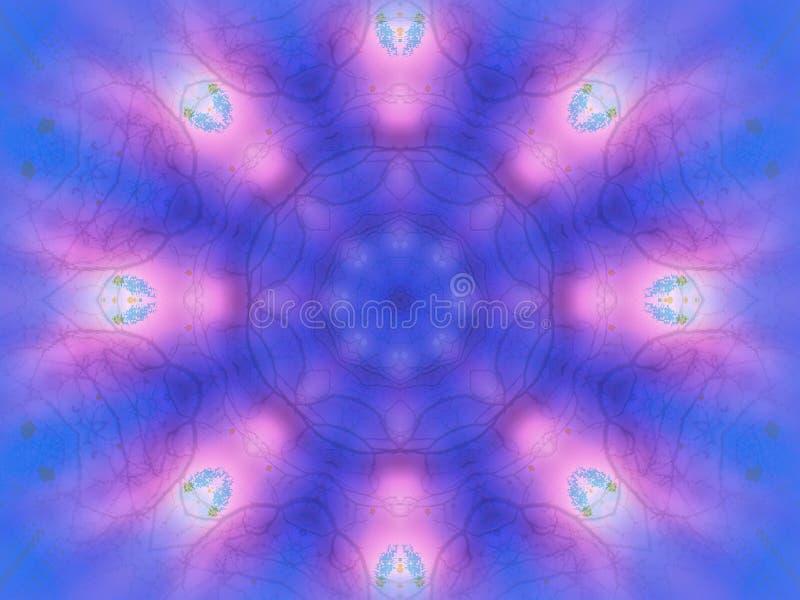 Mandala Van De Winter Stock Afbeeldingen