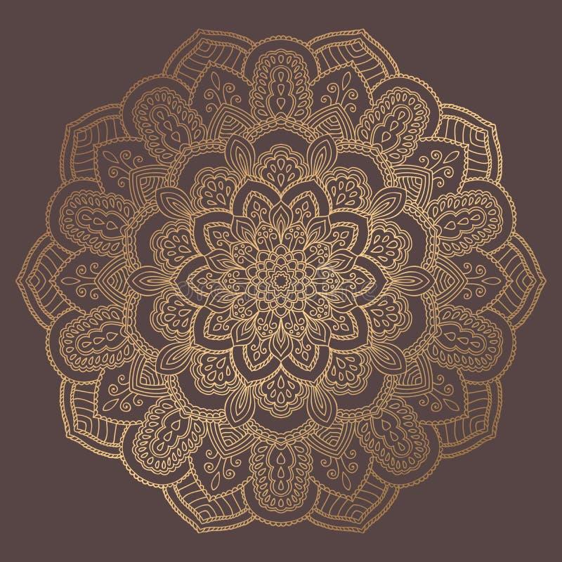 Download Mandala Vector Design Element Vector Illustratie - Illustratie bestaande uit decoratief, kaleidoscope: 114225358