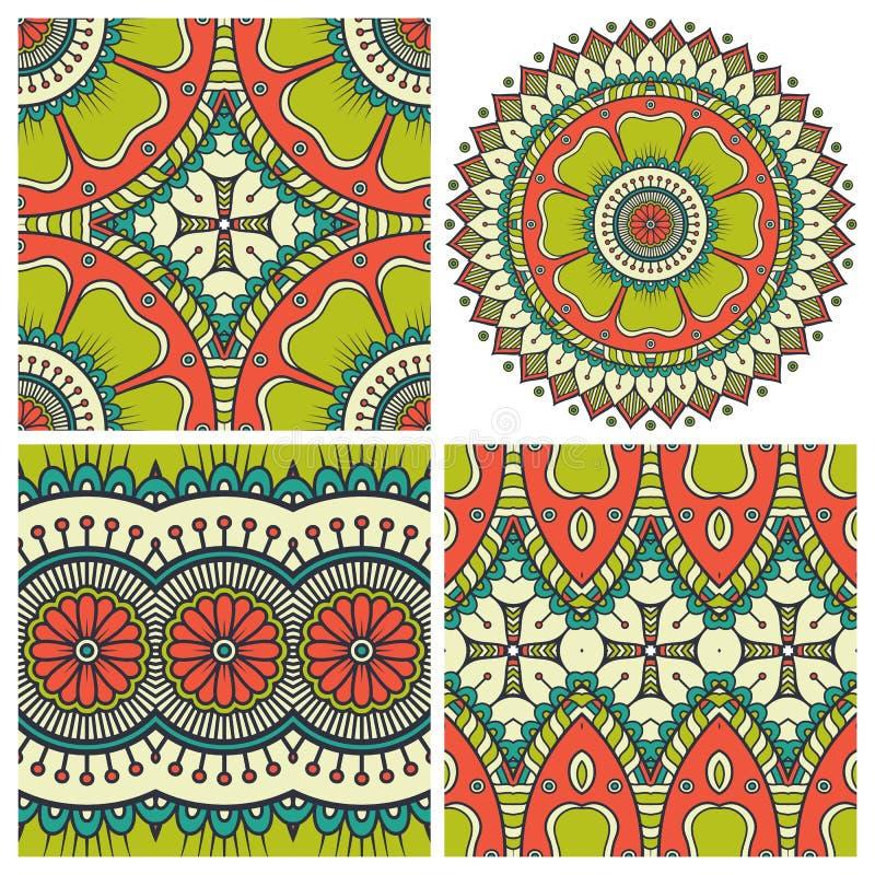 Mandala. Vector Mandala. Round ornament in ethnic style. Hand draw vector illustration