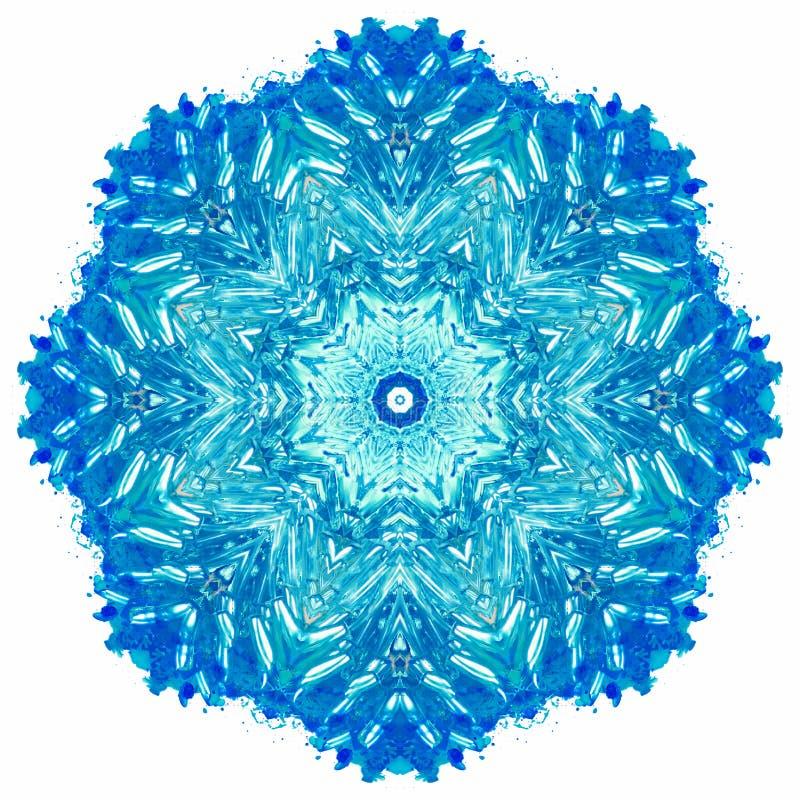 Free Mandala With Art Handmade Watercolor Texture. Royalty Free Stock Photos - 79424838