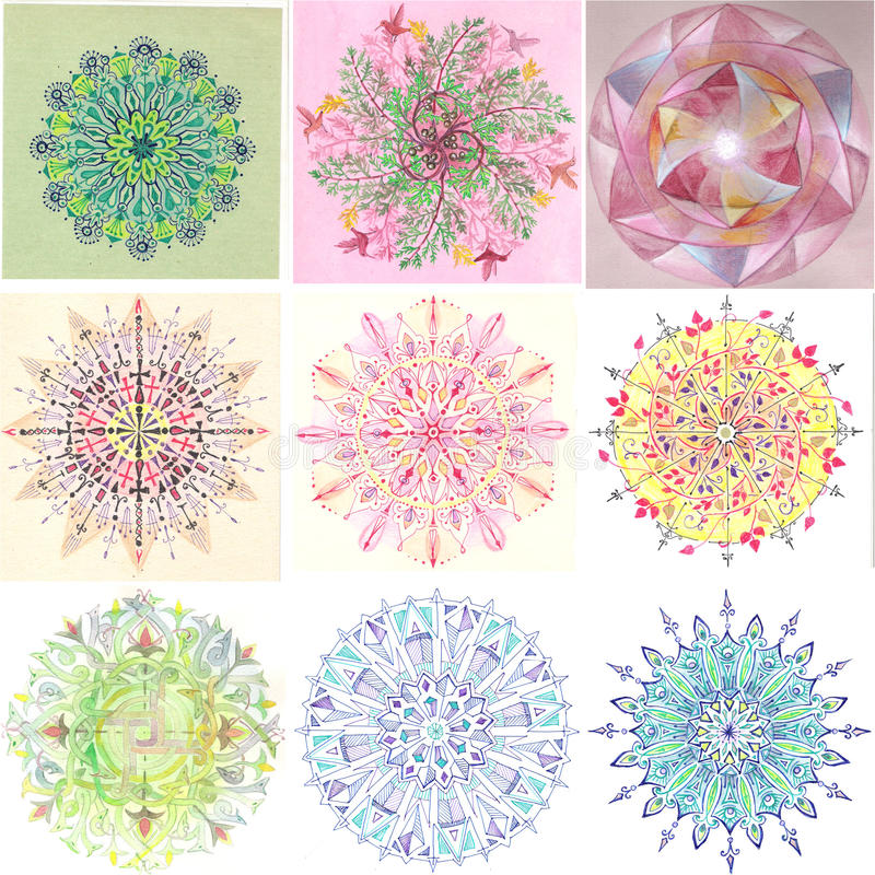 Mandala wsad III obrazy royalty free