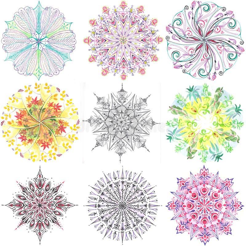 Mandala wsad Ja zdjęcie royalty free