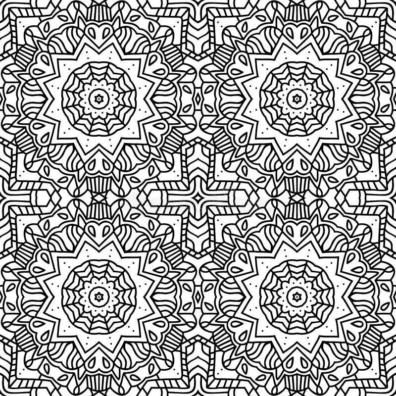 Mandala wzór ilustracja wektor