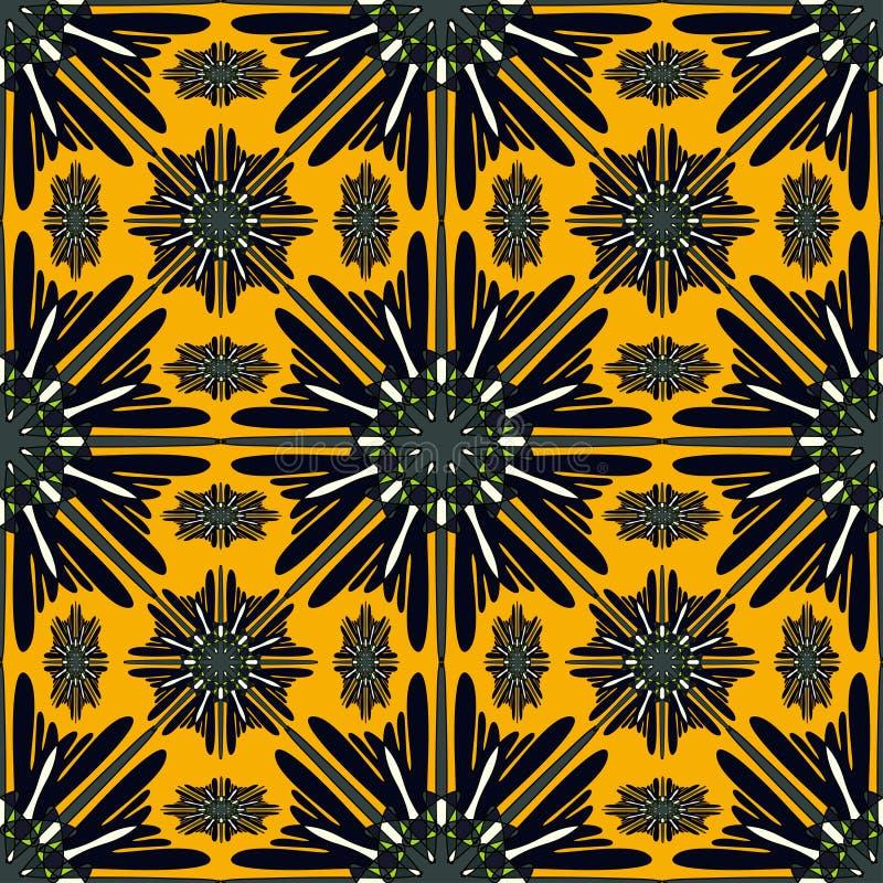 mandalas картина безшовная декоративный сбор винограда элементов также вектор иллюстрации притяжки corel иллюстрация вектора