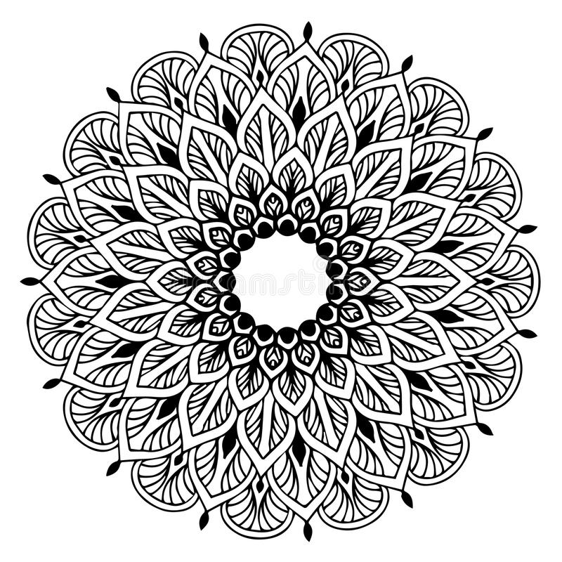 Download Mandalas For Coloring Book Decorative Round Ornaments Unusual Flower Shape Oriental Vector